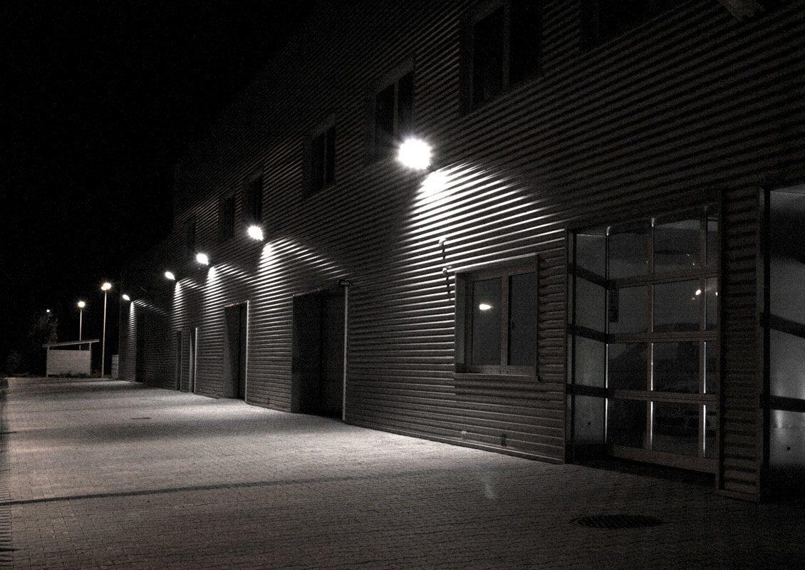 металлогалогенный прожектор уличное освещение