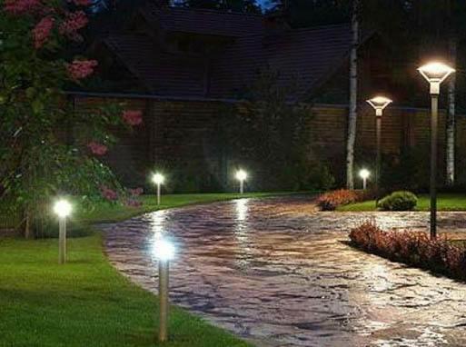 освещение улиц с использованием фотореле