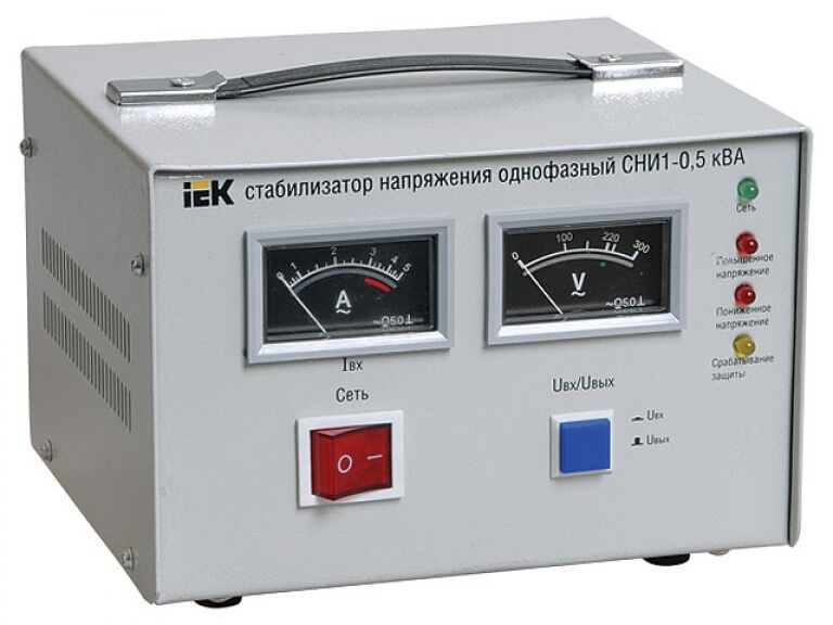 электромеханический стабилизатор напряжения iek