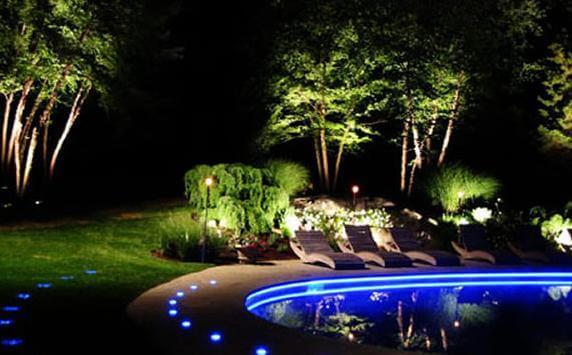 светодиодная лента в подсветке бассейна