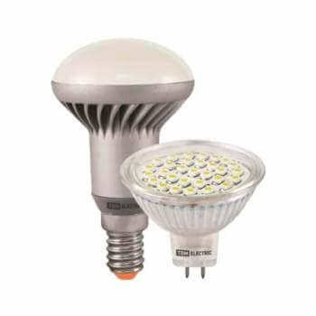 светодиодные лампы в точечном и рефлекторном исполнении