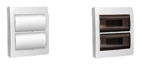 Пластиковые боксы ЩРН-П и ЩРН-П с белой дверцей