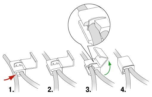 использование ответвителя для провода