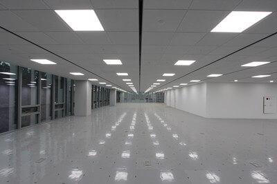 led панели в интерьере офиса