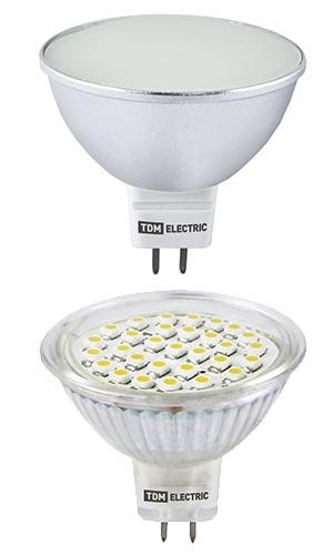 Точечные светодиодные лампы MR16