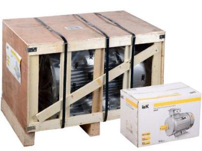 Упаковка электродвигателя IEK