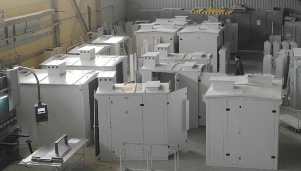 сборка корпусов электрощитов